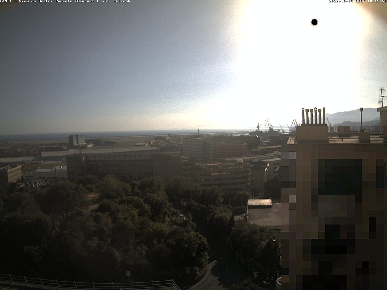 webcam genova imbarco